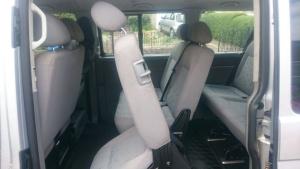 8 seater minibus hire interior view